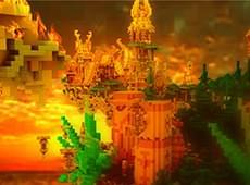 我的世界源赤极异域作品欣赏 玩家原创作品源