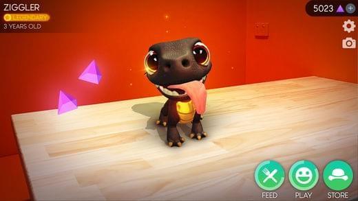 AR Dragon iPhone游戏