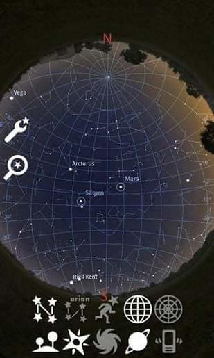 虚拟天文馆Stellarium