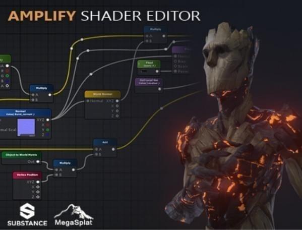 unity3d材质编辑器amplify shader editor