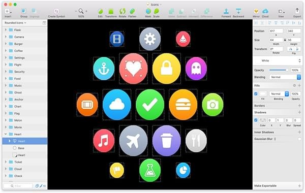 Sketch Mac版