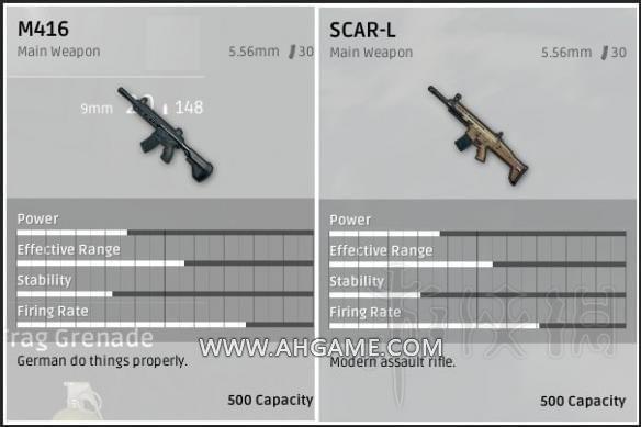 绝地求生满配scar和m4哪个好用 scarl好用还是m416好用