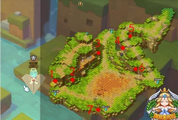冒险岛2五彩森林