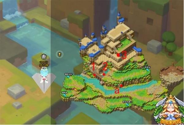 冒险岛2陡峭绝壁要塞黄金宝箱在哪 冒险岛2陡峭绝壁要塞黄金宝箱位置分布