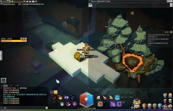 冒险岛2燃烧伐木场黄金宝箱在哪 冒险岛2燃烧伐木场黄金宝箱位置