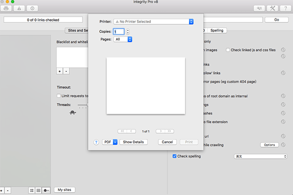 Integrity Pro for Mac