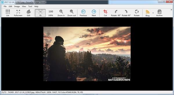 FocusOn Image Viewer(图片浏览软件) 下载v1.20绿色版