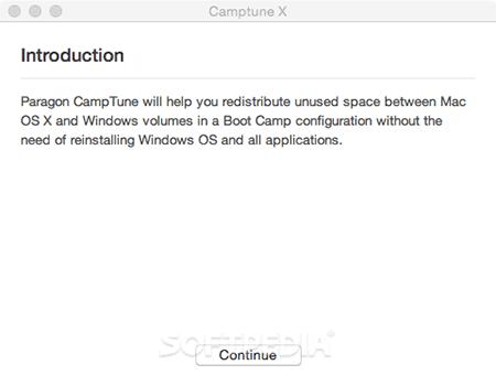 Paragon Camptune X for mac
