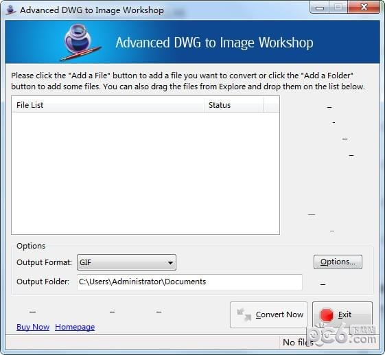 Advanced DWG to Image Workshop(DWG转图像工具)