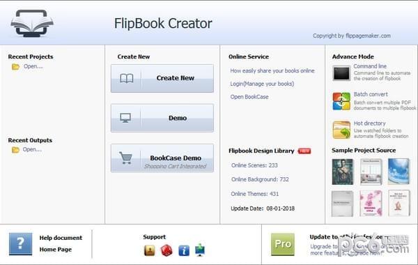 FlipBook Creator(翻转图书制作软件)
