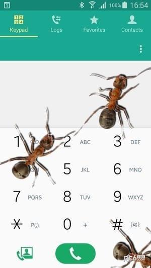 蚂蚁屏幕恶作剧