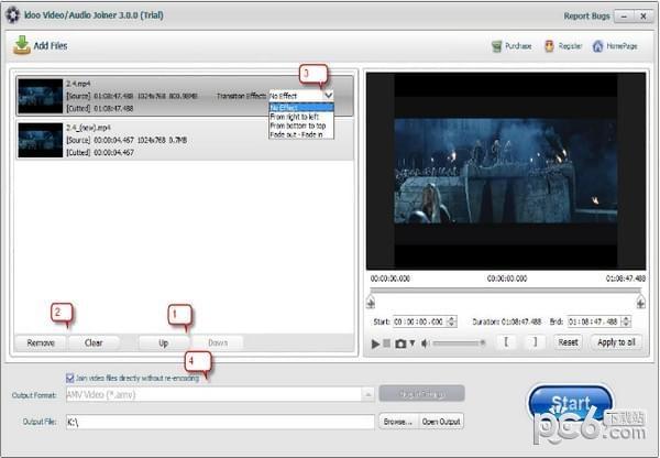 视频归并软件(idoo Video Joiner)