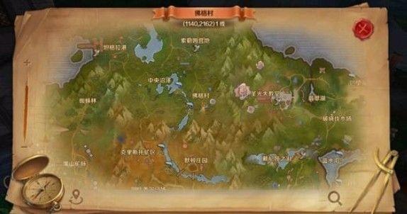 万王之王3d迷雾沼泽风景图片