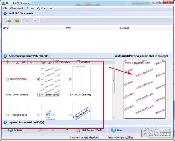 Boxoft PDF Stamper(PDF加水印工具)