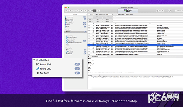 EndNote X9 for Mac