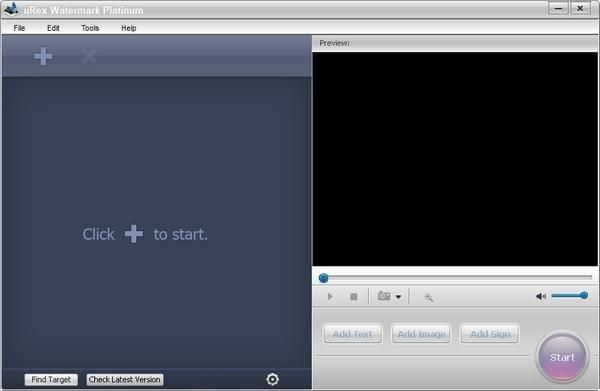 uRex Videomark Plat(视频水印添加软件)