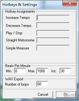 Open Metronome(自动节拍器)