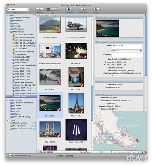 NeoFinder for MAC
