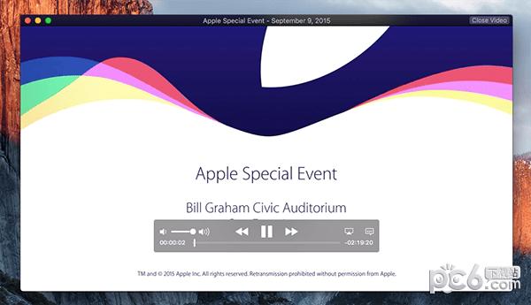 Apple Events Mac版