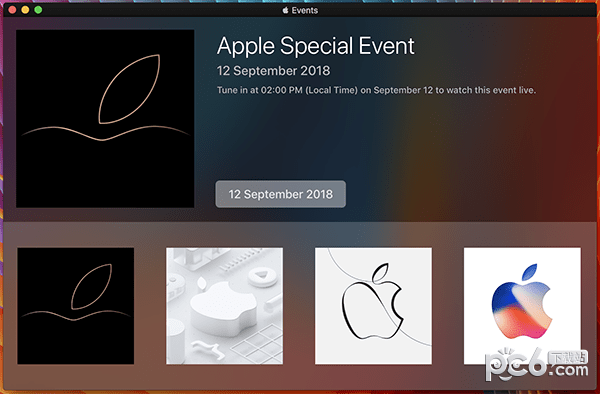 Apple Events for Mac