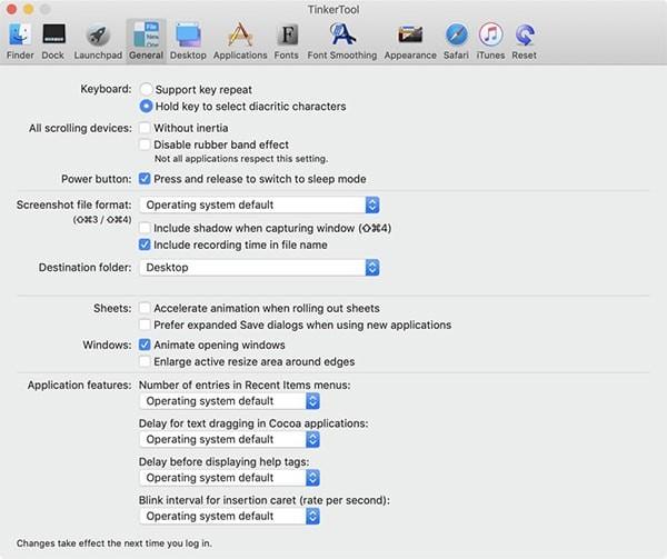 TinkerTool Mac版