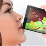 手機模擬喝飲料的游戲