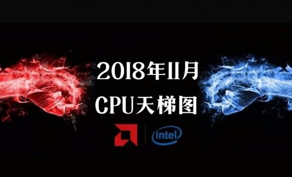 cpu天梯图2018