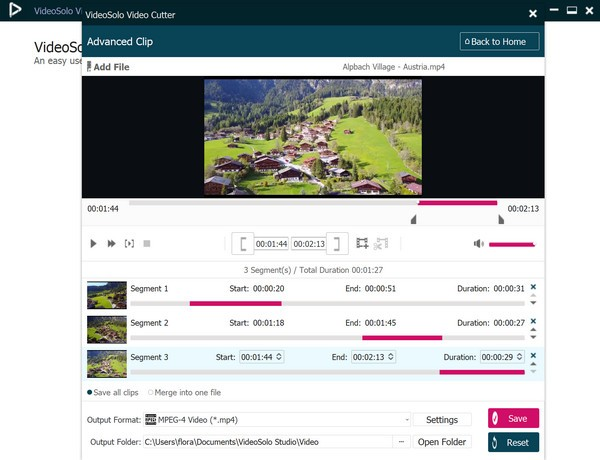 VideoSolo Video Cutter(视频切割器)