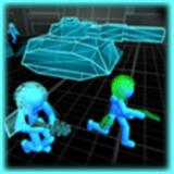 火柴人戰爭霓虹坦克戰