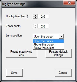 BigType(放大镜软件)