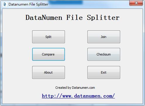 DataNumen File Splitter(文件分割合并软件)
