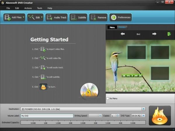 DVD刻录制作软件 AnyMP4 DVD Creator v7.2.28 破解版 支持多音轨通道