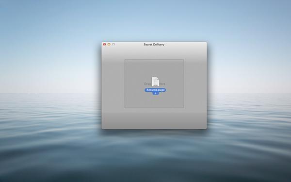 Secret Delivery Mac版
