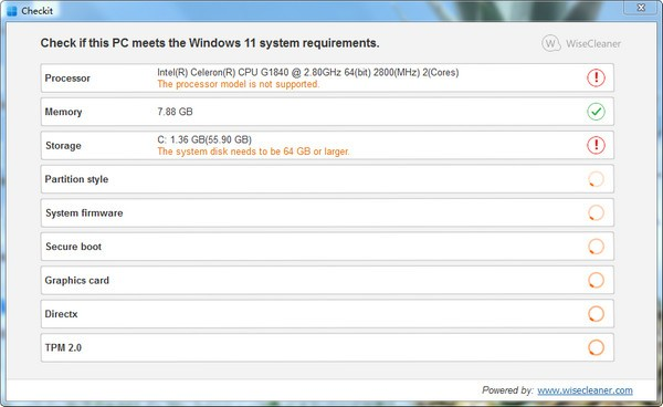 Checkit(Windows 11检测工具)