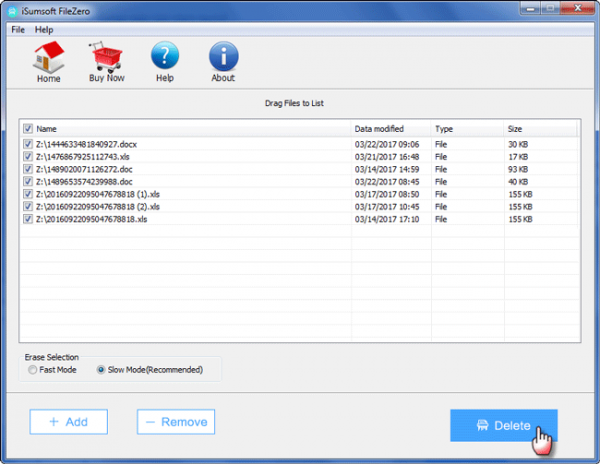 iSumsoft FileZero(文件粉碎软件)