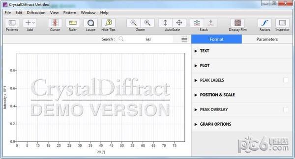 CrystalDiffract(晶体结构软件)