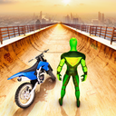超级英雄自行车特技GT赛车