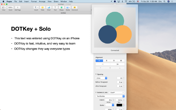 Solo Desktop Mac版