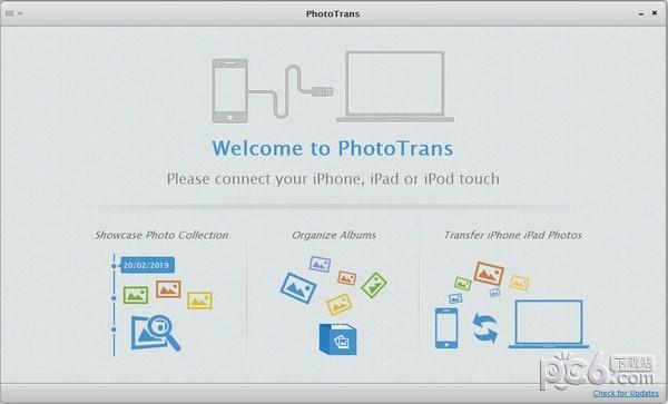 PhotoTrans(iOS设备图片管理工具)