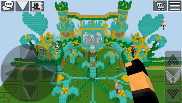 方块世界工艺游戏