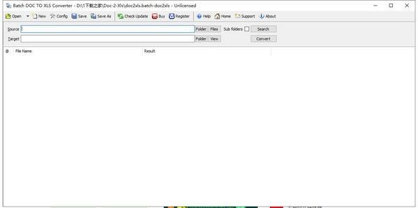 Batch DOC TO XLS Converter(文档转Excel兴发老虎机)