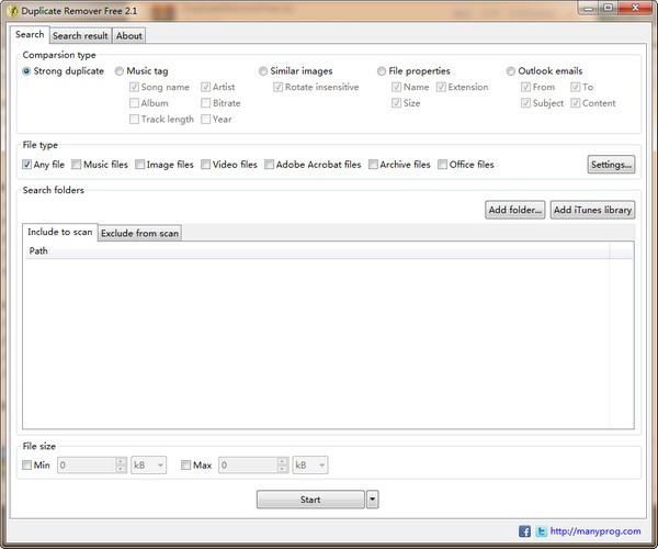Duplicate Remover Free(重复文件删除工具)