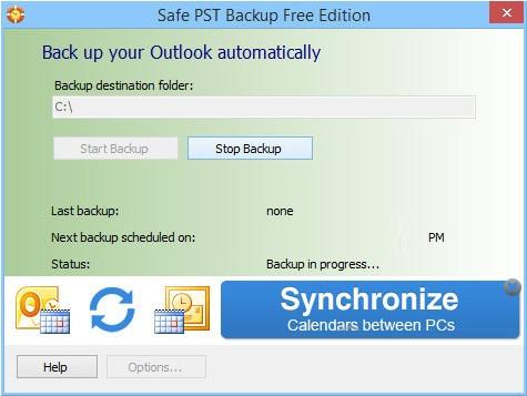 Safe PST Backup(文件备份软件)