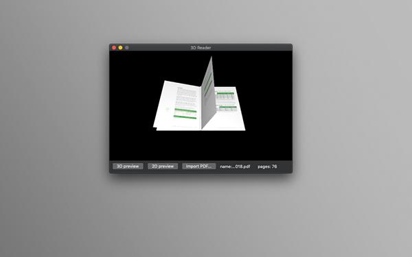 3D Reader Mac版