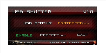 USB Shutter-USB Shutter(USB端口管理工具)下載 v1.0官方版