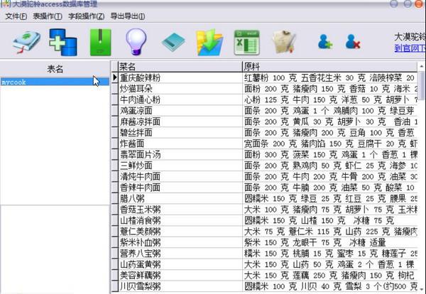 大漠驼铃access数据库管理