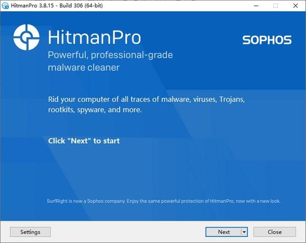 HitmanPro(反病毒�呙韫ぞ�)